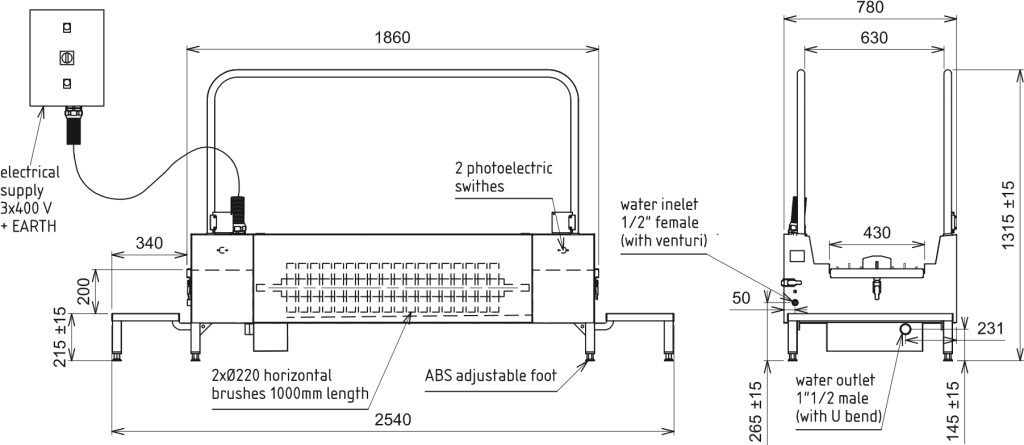 Boot Washer Diagram