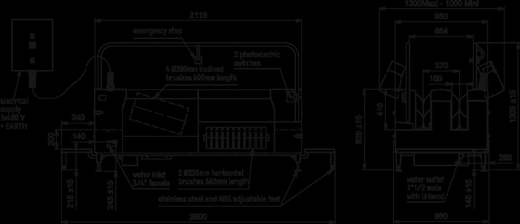 Sensor Operated Washer Diagram