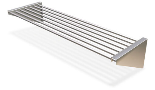 Stainless Steel Wall Shelve Manufactured From Tubular Steel