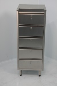 5 Drawer 400x400x900 Fully Lockable