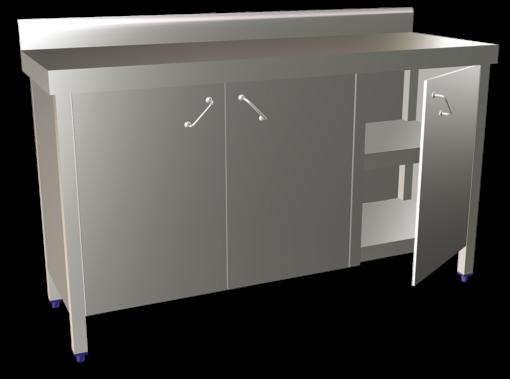 3 Door Hindge Base Cupboard