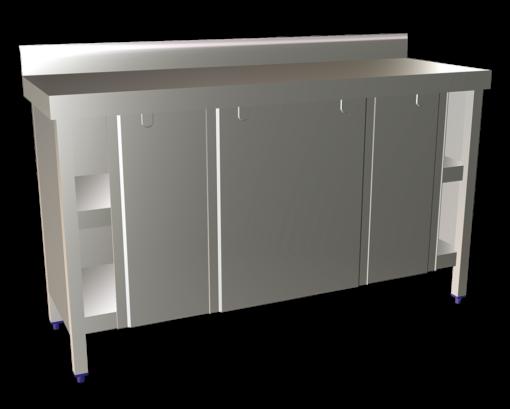 3 Door Slidding Base Cupboard