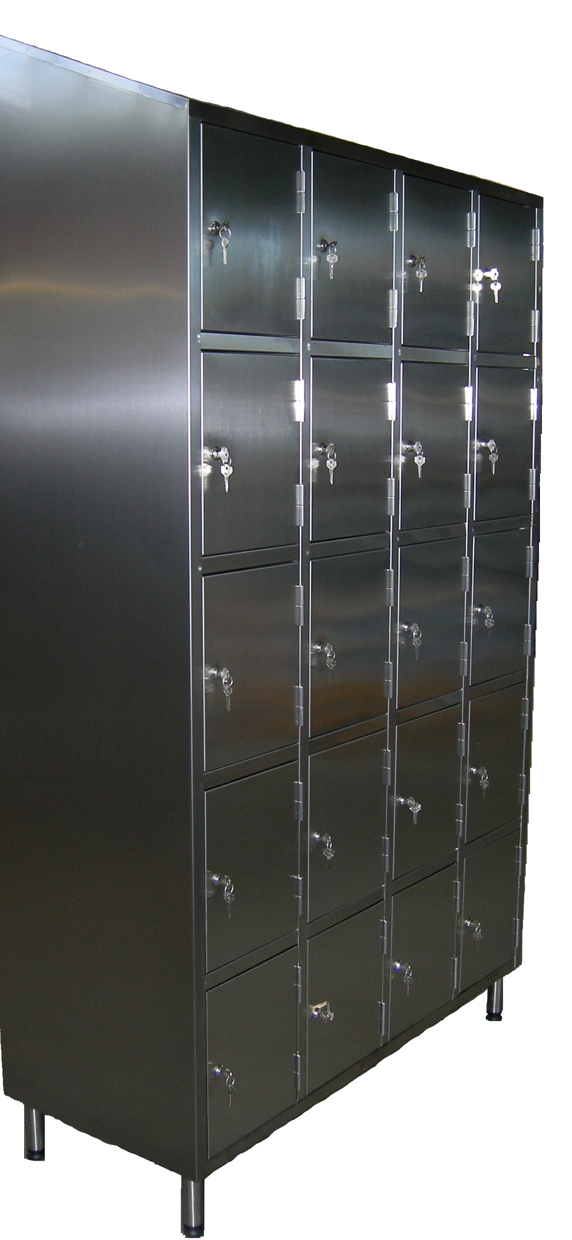 Hasp And Staple >> Stainless Steel Lockers by J&K Stainless Solutions Ltd