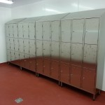 Stainless steel lockers 8
