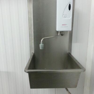 Hot Water heater sink unit