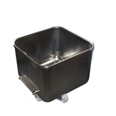 Stainless Steel Tote Bin