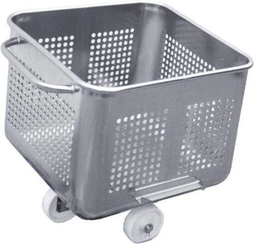 200 Lt Perforated Euro bins with 10 mm diameter holes