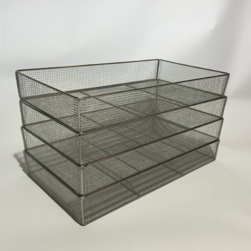 Wire Basket Tray Products - Stainless Steel Wire Trays, Baskets and Solid Trays
