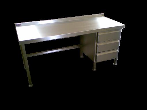 Stainless Steel Desk