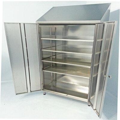 Double Door Four Internal Shelves Storage Cabinets