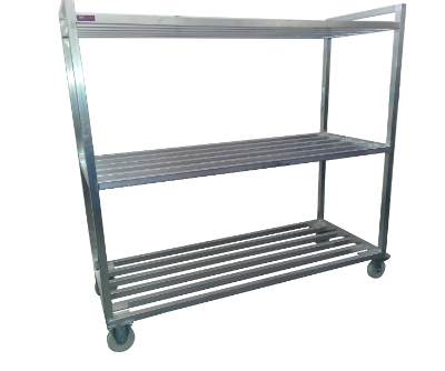 stainless steel mobile racking