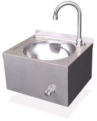 WALL MOUNTED KNEE CATERING SINK