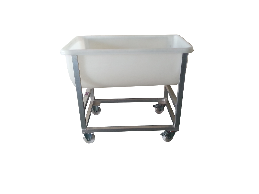 Mobile Plastic Half Moon Troughs J Amp K Stainless Solutions