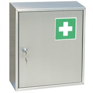 stainless steel first aid cabinets j k stainless solutions. Black Bedroom Furniture Sets. Home Design Ideas