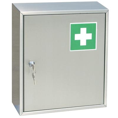 first aid cabinet stainless steel aid cabinet by j amp k stainless 15455