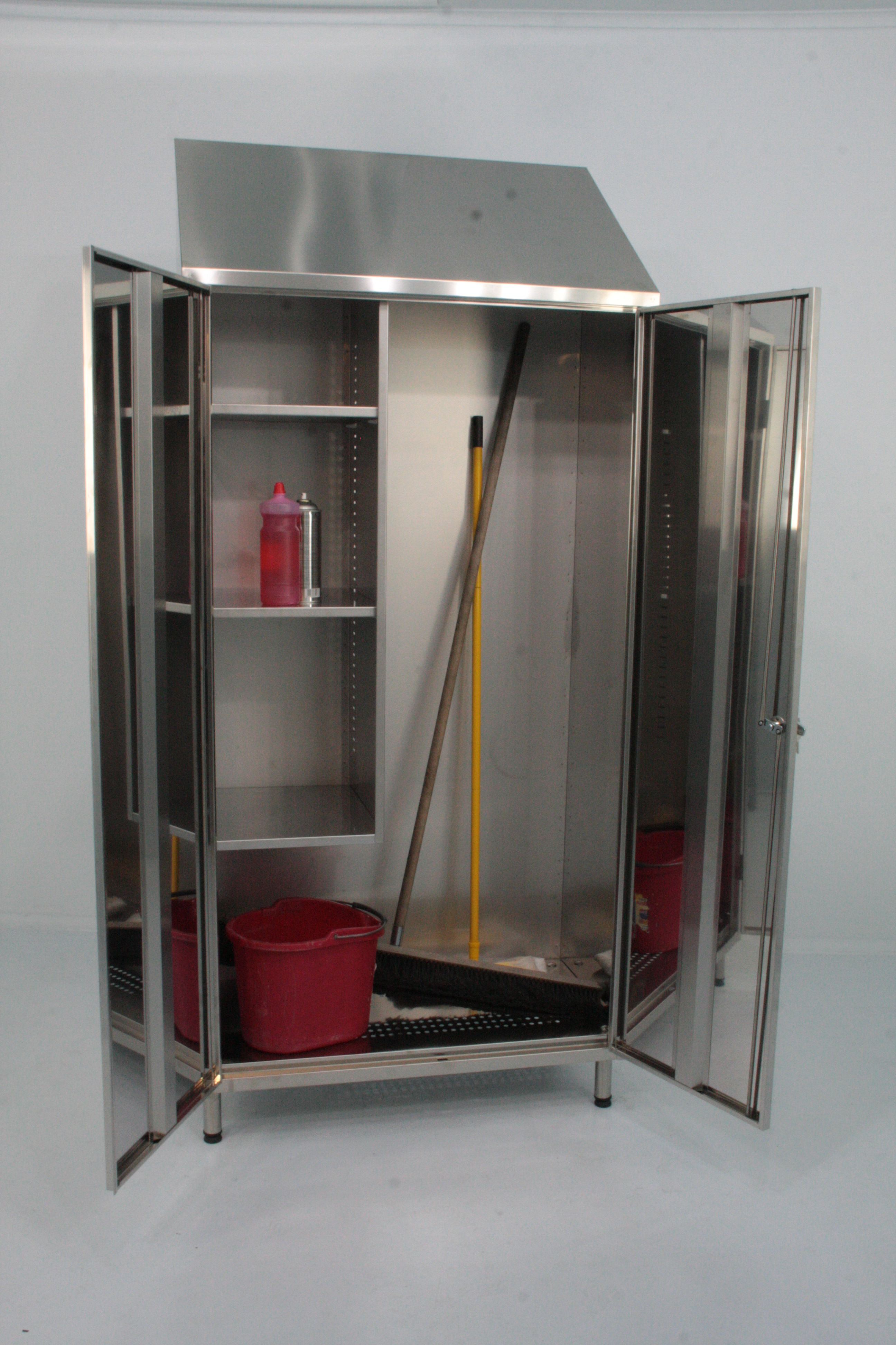 Mop Storage Cabinet Mop Cupboard By J Amp K Stainless