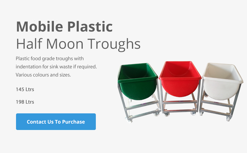 Mobile Plastic Troughs